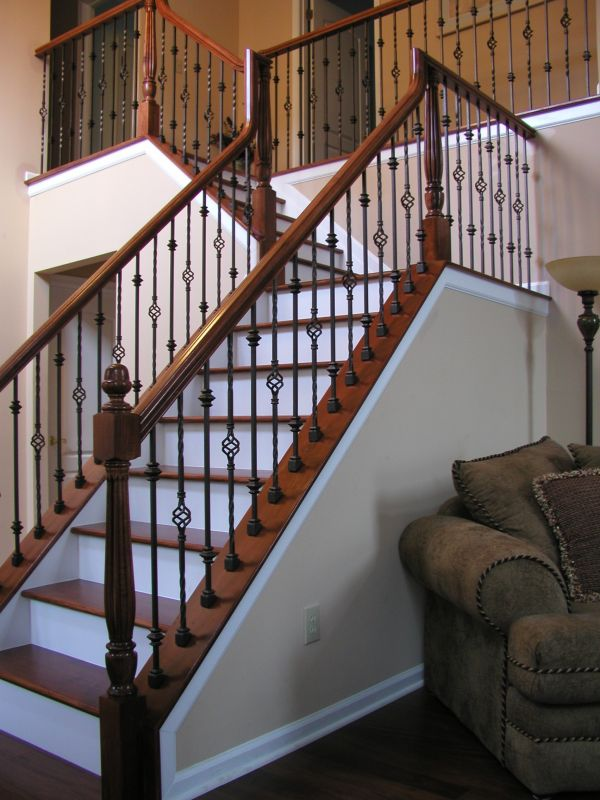 Wrought Iron Balusters. Back To Wrought Iron Staircase Spindles ...