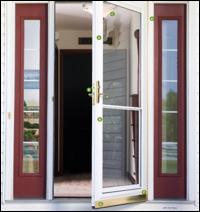 DELUXE STORM DOORS & Doors | Storm Door Features Colors u0026 Styles | Lomonacou0027s Iron Concepts